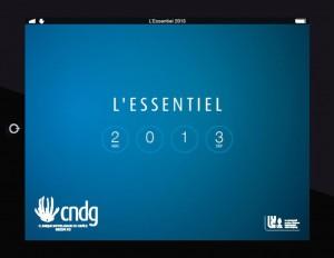 Essentiel 2013 - couverture
